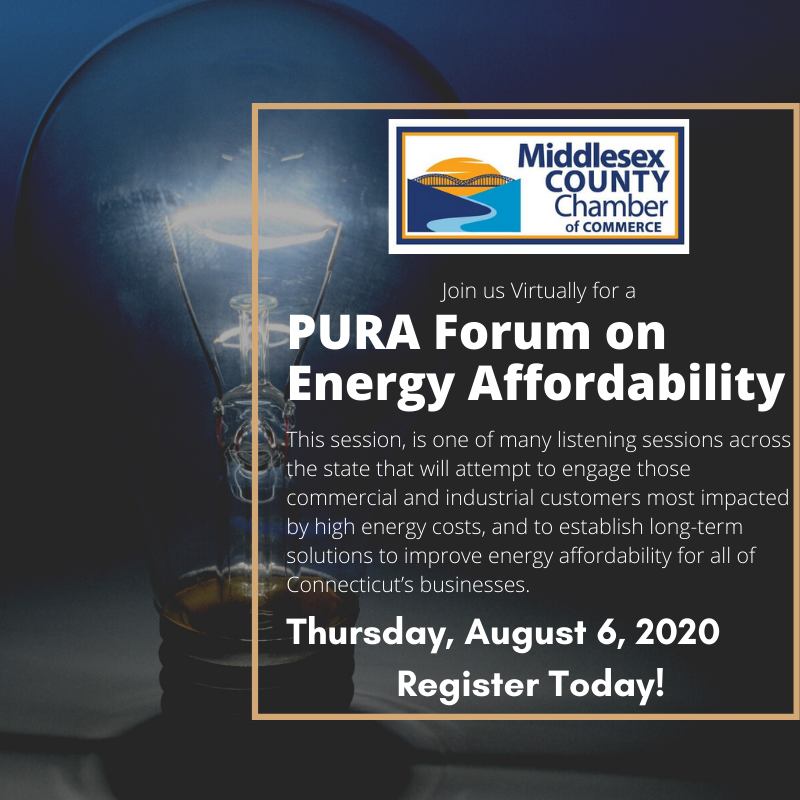 Listen to one of many sessions across the state that will attempt to engage those commercial and industrial customers most impacted by high energy costs, and to establish long-term solutions to improve energy affordability for all of CT's businesses.