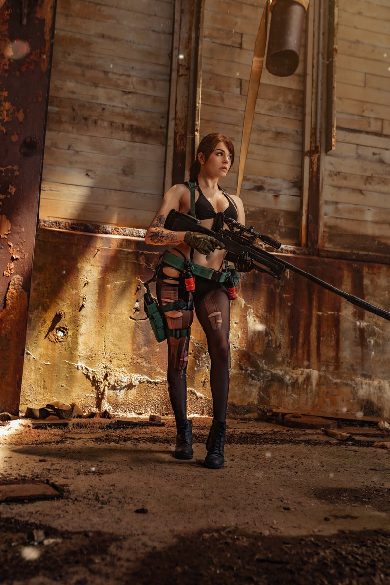 """""""Vengeance is what drove me to them... The only language left to me, revenge.""""  ✫ MGSV - Quiet cosplay ✫"""