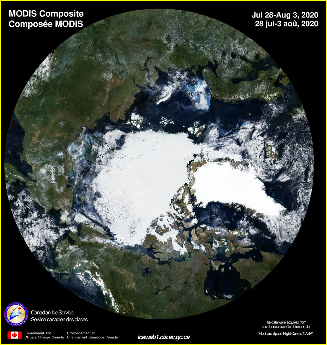 This white stuff was supposed to be all gone years ago, according to the #ClimateDoomsday Kooks which include the taxpayer-funds enriched scientists.  In reality, #ArcticIce Levels are as high as ever (actually the highest in 8000 years), and well within natural variation.
