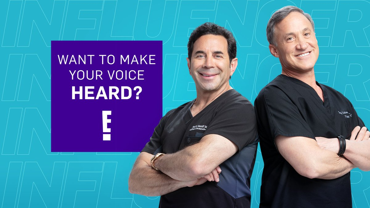 Love #Botched? Share all your opinions with our Viewer's Voice Panel and get the chance to earn gift cards!