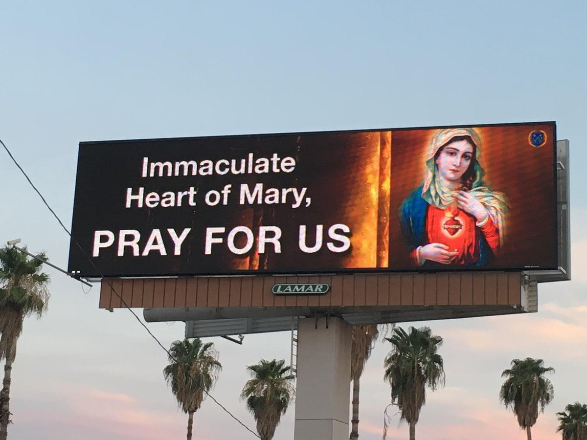 Catholic woman raised money to have this graphic displayed on billboards throughout Phoenix