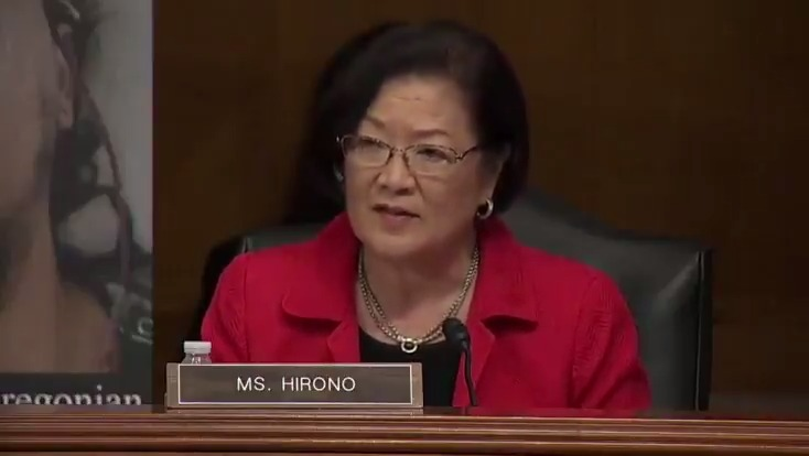 "Sen. Mazie Hirono: ""President Trump has ignored factual evidence showing that white supremacists have hijacked peaceful protests to incite violence and stoke racial conflict, such as in Minneapolis."""