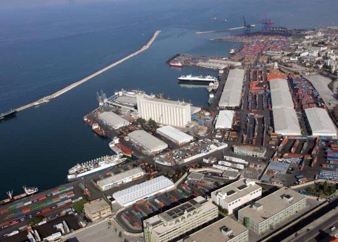 Beirut Port   BEFORE                              AFTER  #BeirutBlast  Credit: @HSajwanization