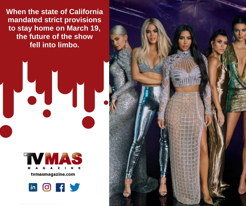 It arrives exclusively through E! Entertainment the long-awaited new season, and here all the data that fans will not want to miss. More:  #TVMAS #KEEPINGUPWITHTHEKARDASHIANS #EENTERTAINMENT #KrisJenner #KourtneyKardashian #KimKardashian #KhloeKardashian