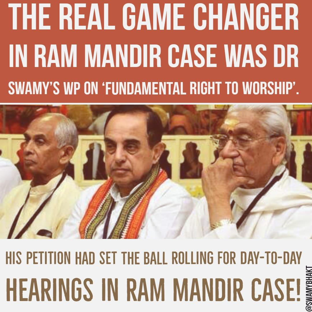 *Today a Great Day of Bhoomi Pooja of Grand Ram Mandir at Ayodhya ! Pay tributes to all those who fought for Ram Mandir-* #JaiShriRam  🙏 @vhsindia @Swamy39 @jagdishshetty #BhoomiPujan #BharatRatnaForAshokSinghal