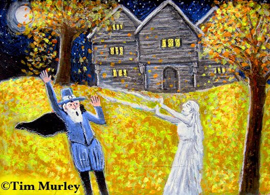The witches of Salem. ⛪️🍁🍂🌲🌿🌳🌝🍃 #painting #art #arte #HalloweenKills #colonial #Halloween #spell #History #pilgrims #salem #salemwitchtrials #childrensbooks #spells #legendofsleepyhollow #sleepyhollow #witch #wizard #witches #salem #bruja #SalemMA #landscape #magic #artist