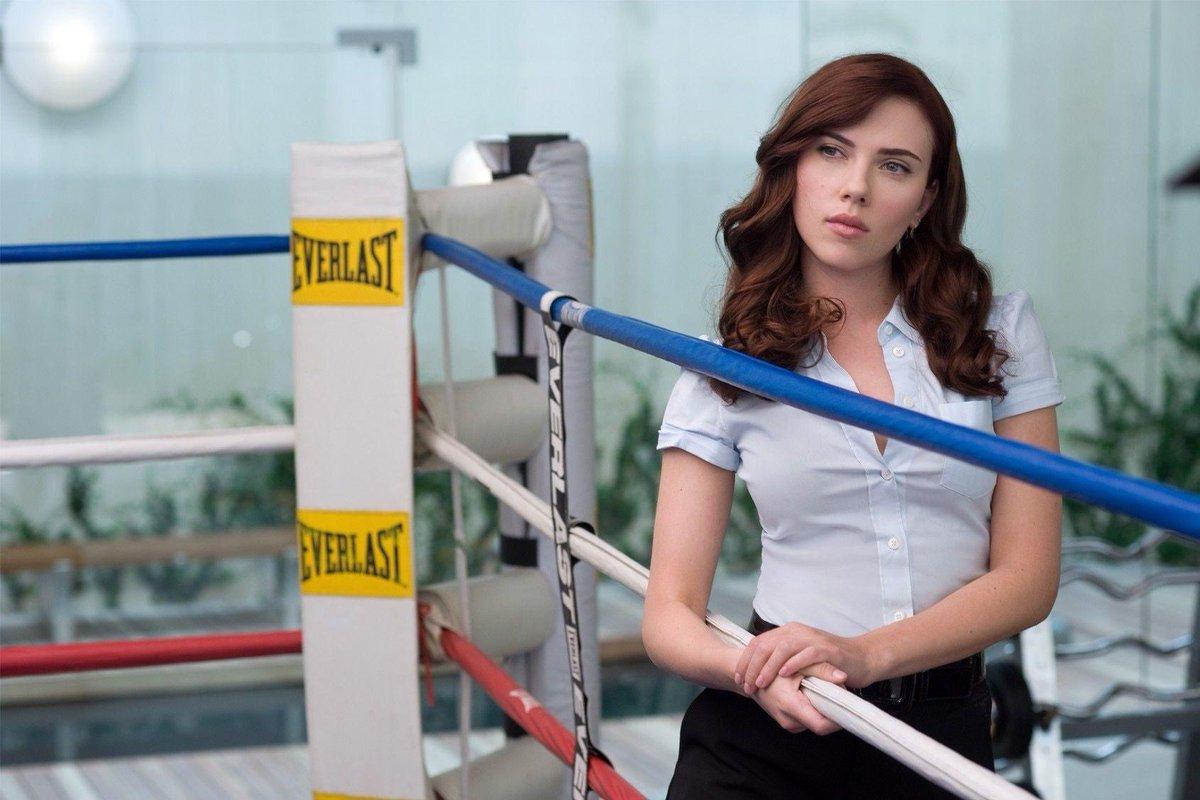 Scarlett Johansson as Black Widow in 'Iron Man 2'