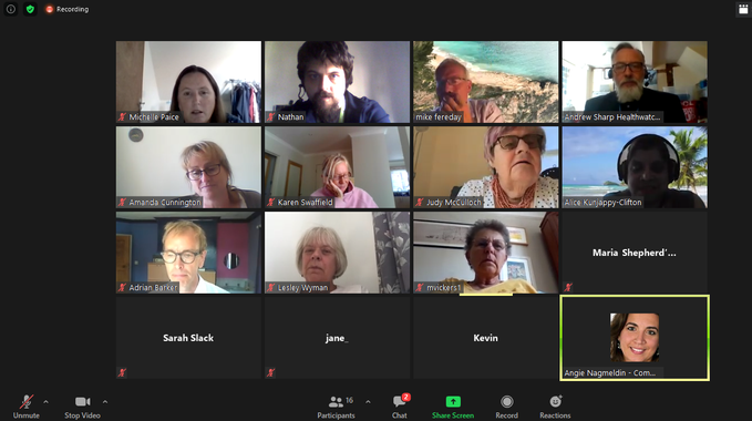 Thank you to all who attended our first Virtual Board Meeting in Public, more information to come as to when the next one will be by visiting @HealthWWBerks website :-  sometime in October, #savethedate. #BecauseWeCare. Share your feedback #WestBerks #NHS