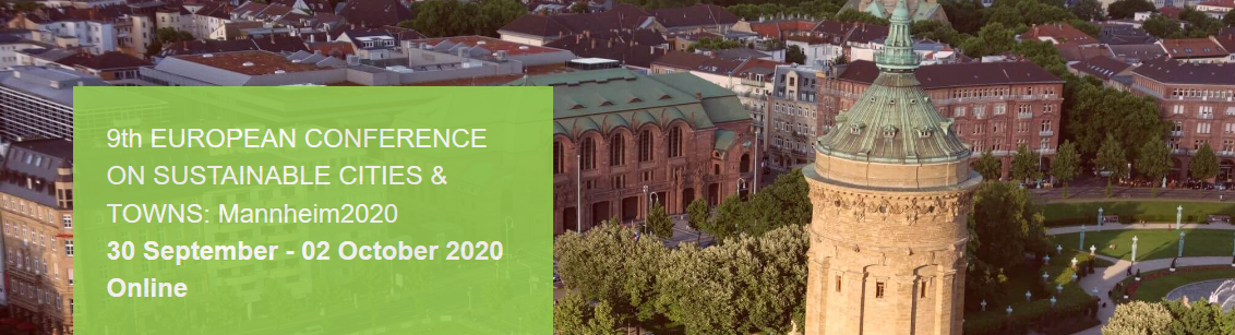 The #European Conference on #Sustainable #Cities & #Towns @sustain_cities goes online from 30/9 - 2/10/2020!  The Event focuses on the topics #urbanplanning & #sustainability & #climatechange. #SaveTheDate & register now👉   @ICLEI_Europe @EU_EESC @EU_CoR