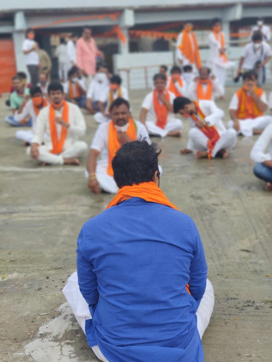 RamaTarakaJapa started at Anjanadri, the Hanuma Janmabhumi. Karnataka the  #LandOfHanumanCelebrates RamMandir