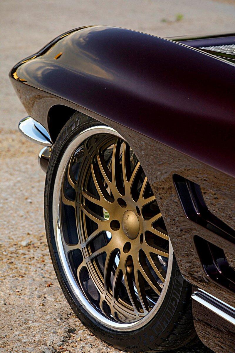 #WheelsWednesday  1963 #Corvette Split Window Coupe 327 Small Block Chiuscano   © Photography by Robert McGaffin