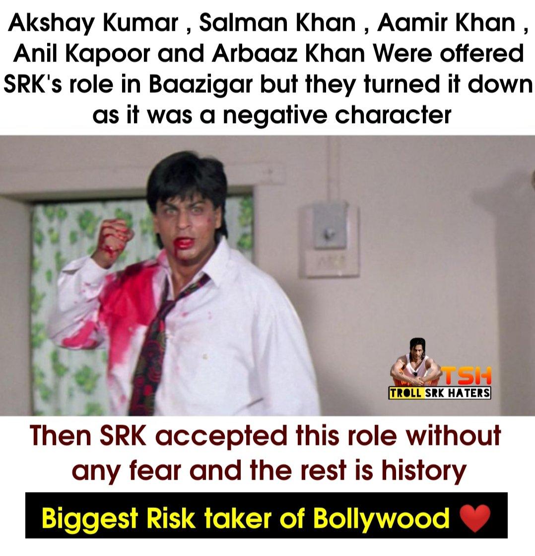 Biggest Risktaker ❤️😎 #SRK #ShahRukhKhan