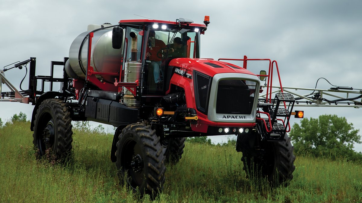 With a1200 gallon stainless steel tank the #AS1250 and #AS1250XP are the largest #sprayers in the #ApacheSprayers family, & still weigh less than the competition. Includes a#Cummins Performance Series V engine and new front entry to cab. Learn more: