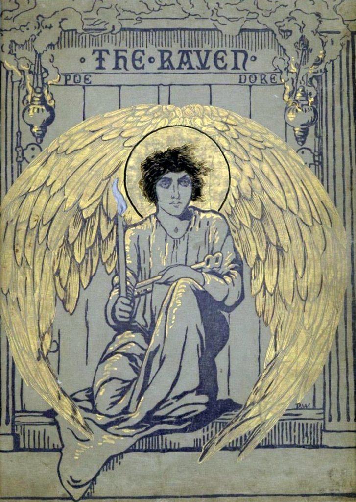 """Gustave Doré's Splendid Illustrations of Edgar Allan Poe's """"The Raven"""" (1884)  via @openculture #GothicAesthetics"""
