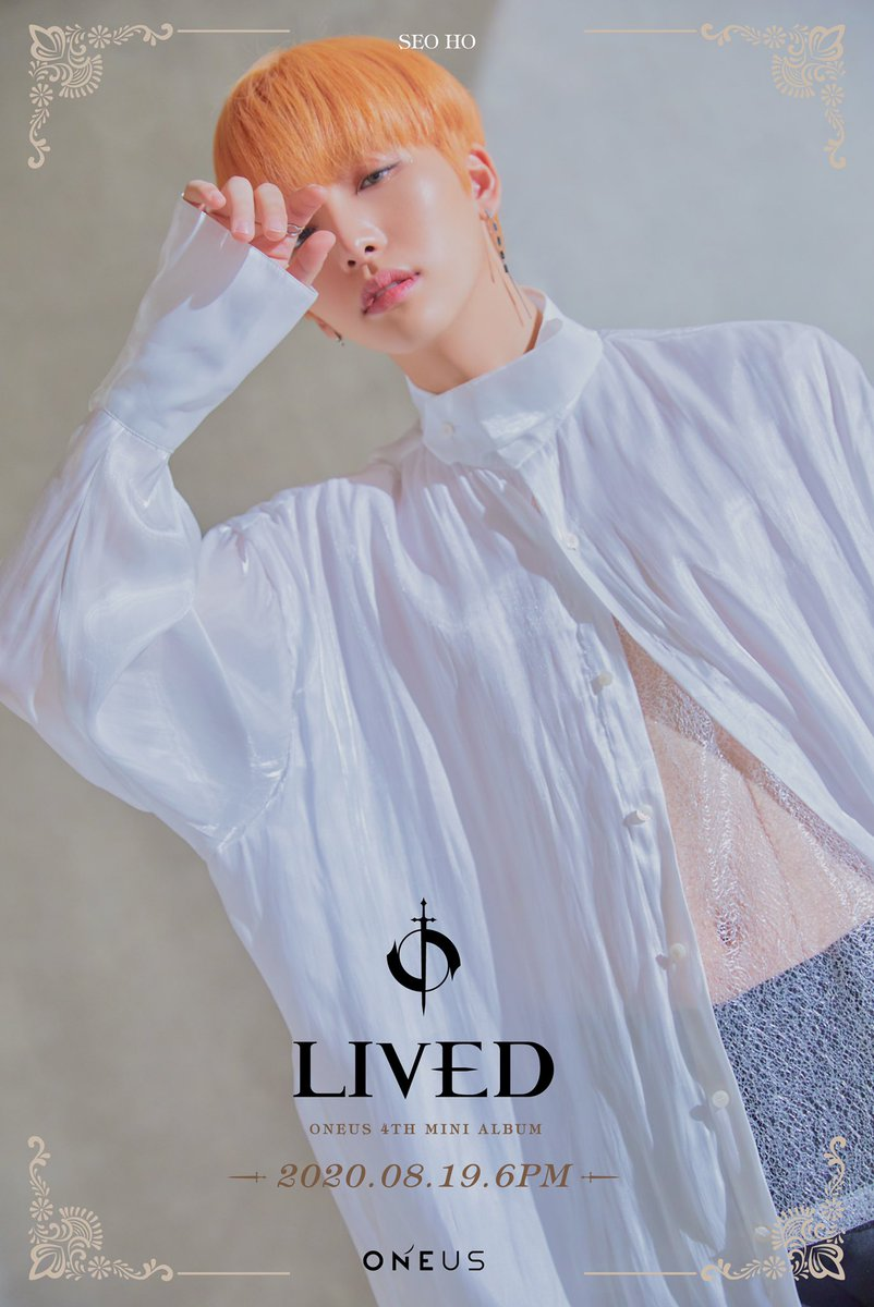[#ONEUS]  4TH MINI ALBUM 'LIVED' 2020.08.19 6PM RELEASE✔  ▪ CONCEPT PHOTO ▪ ▪ SEOHO LEEDO ▪  #원어스 #LIVED #서호 #이도 #SEOHO #LEEDO