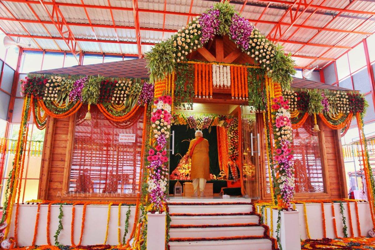रामोविग्रहवान्धर्मः साधुः सत्य पराक्रमः | राजा सर्वस्य लोकस्य देवानाम् इव वासवः ||  आज का दिन सदा के लिए इतिहास के पृष्ठों में स्वर्णाक्षरों में अंकित हो गया। भगवान श्रीराम के जन्मभूमि मन्दिर का भूमि पूजन नव भारत के उत्थान का विजयोत्सव है।  जय श्री राम!