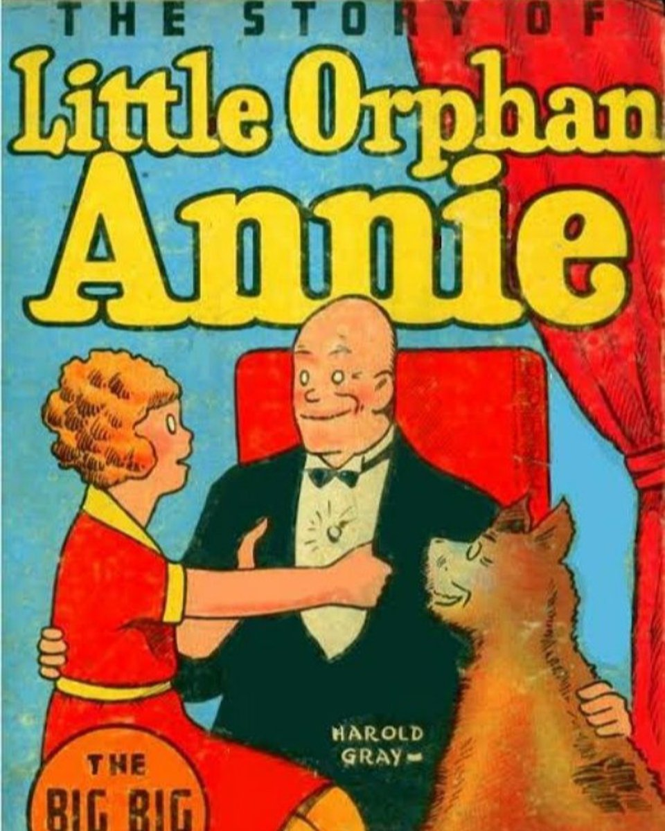 Little Orphan Annie debuted in a comic strip on 8/5/1924. The comic was written by Harold Gray, based on a poem by James Whitcomb Riley. Annie became iconic for her curly hair and adventurous spirit, and the character has been adopted to Broadway and several films. #WCW #CCLwcw