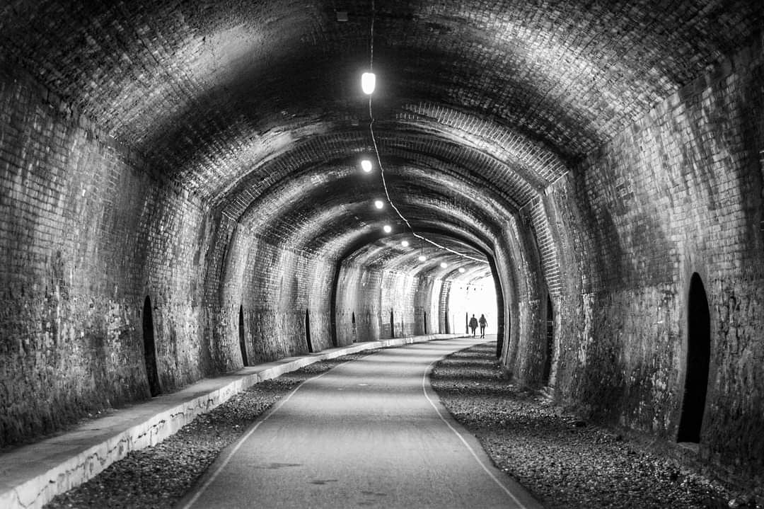 The light at the end of the tunnel, maybe you @derbyshire_live @bakewell #tunnel #bakewell #Derbyshire #disused
