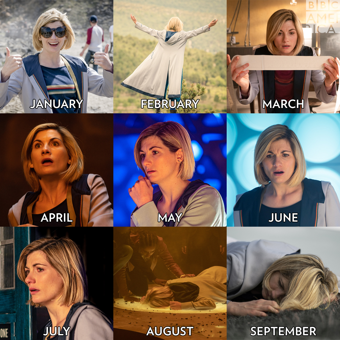 We're all the Doctor this year. #DoctorWho