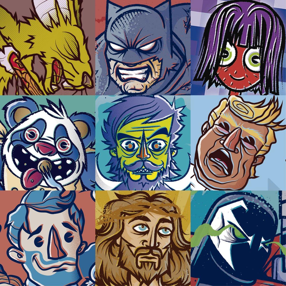 #FaceYourArt l Los Rostros de la Pasión.  #TheMidnightGospel #Batman #Trump #Yisus #Devil #Sapwn #lllustration #ArtistaWacomMexico #Drawing #Cintiq #llustradoresMexicanos #DNNLSMICTO