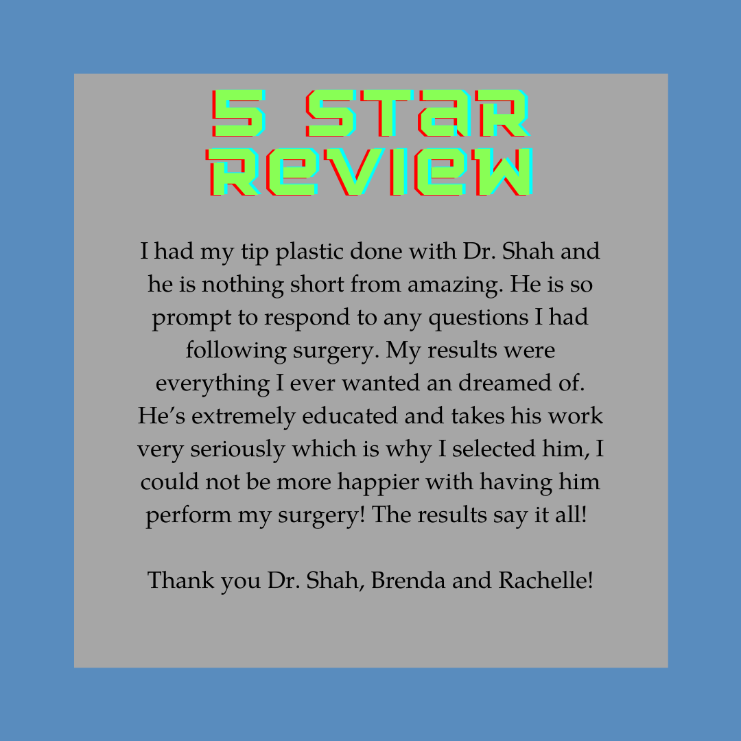 Thank you for your amazing words! You don't know how much we appreciate the support. #fivestarreview #rhinoplasty #plasticsurgery #denver #denverplasticsurgery #denverplasticsurgeon