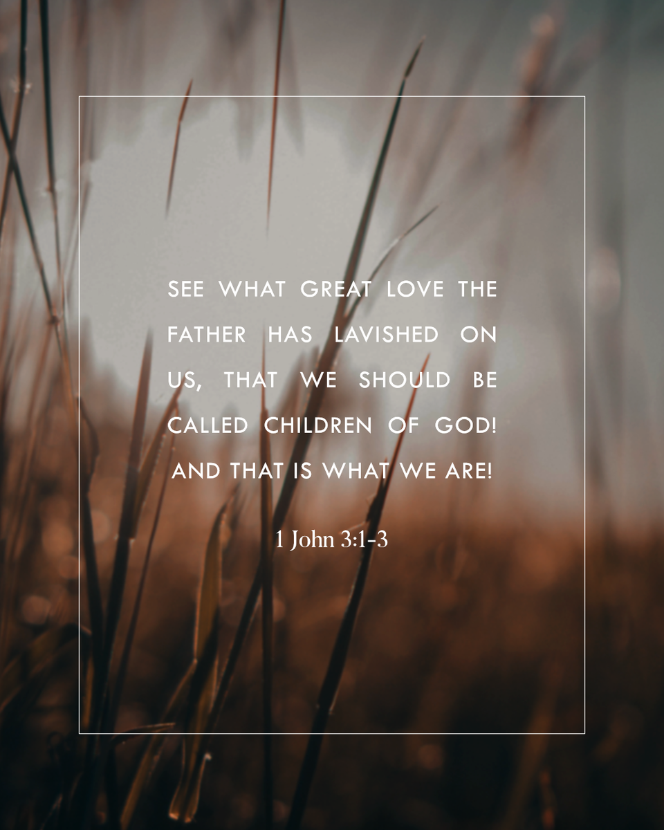 """Thank You for this promise, Lord!  Comment """"I am a child of God!"""" if you believe you are!   #praisecommunitychurch #CovinaCA #California #VOTD #dailybibleverses"""