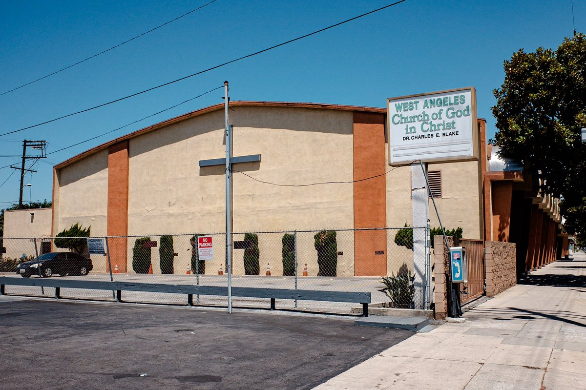 This is West Angeles church, where my mother taught Sunday school at for over a decade. #documentary #photography #LosAngeles