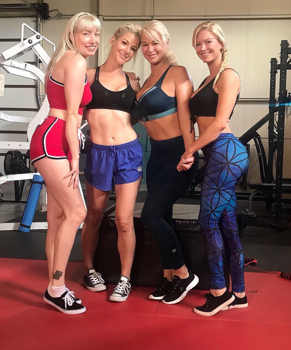 Working out with my #Girlfriends