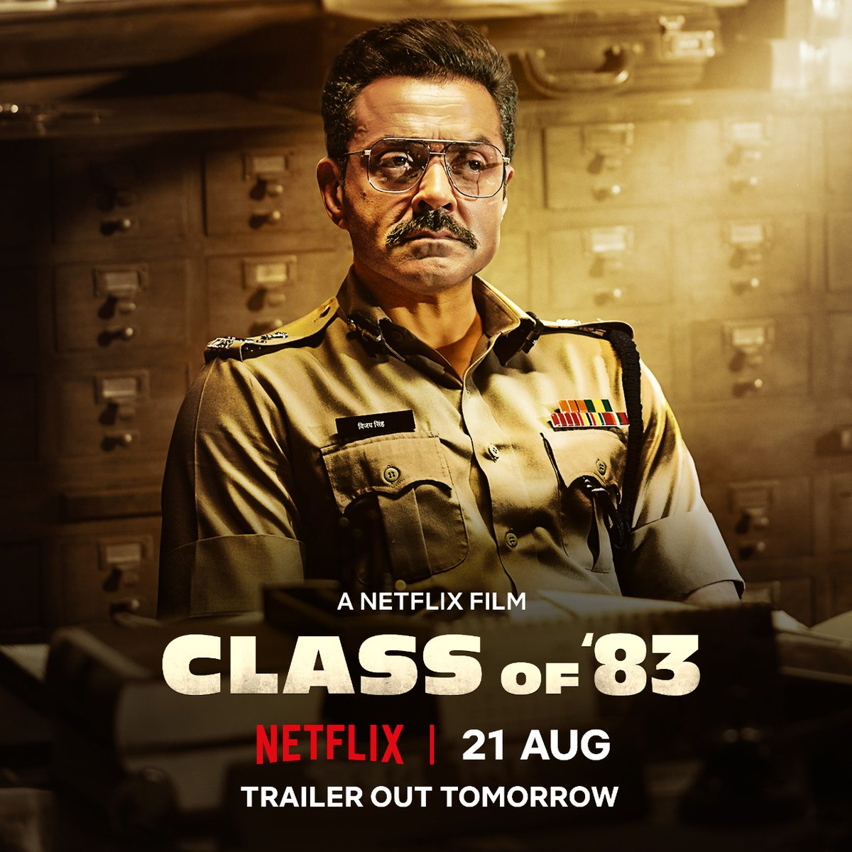 Some things can never be taught. And in the fight for good vs evil, it's knowing which side you belong to!  #ClassOf83 trailer out tomorrow. Premieres 21st August, only on @NetflixIndia.