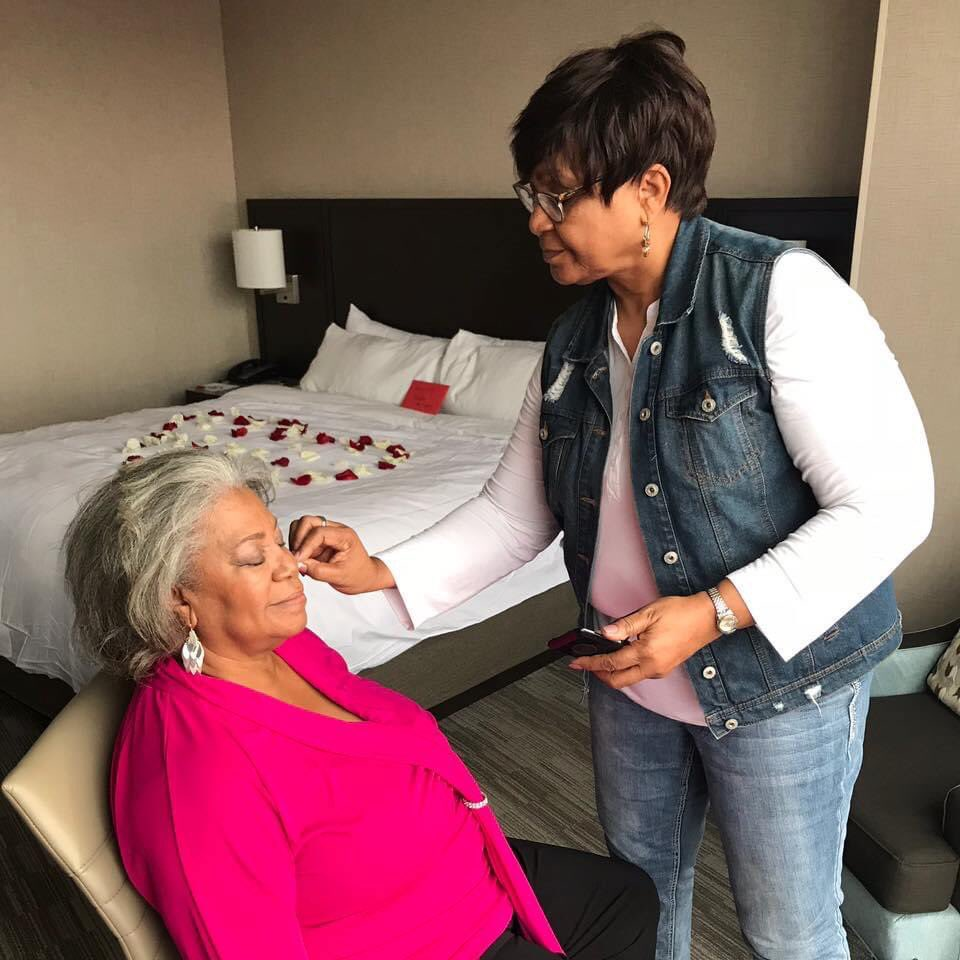 """My mom helped my aunt get ready for her 50th wedding anniversary last year. They are both dead now. They died from #COVID19 this year... but @realDonaldTrump """"It is what it is..."""""""