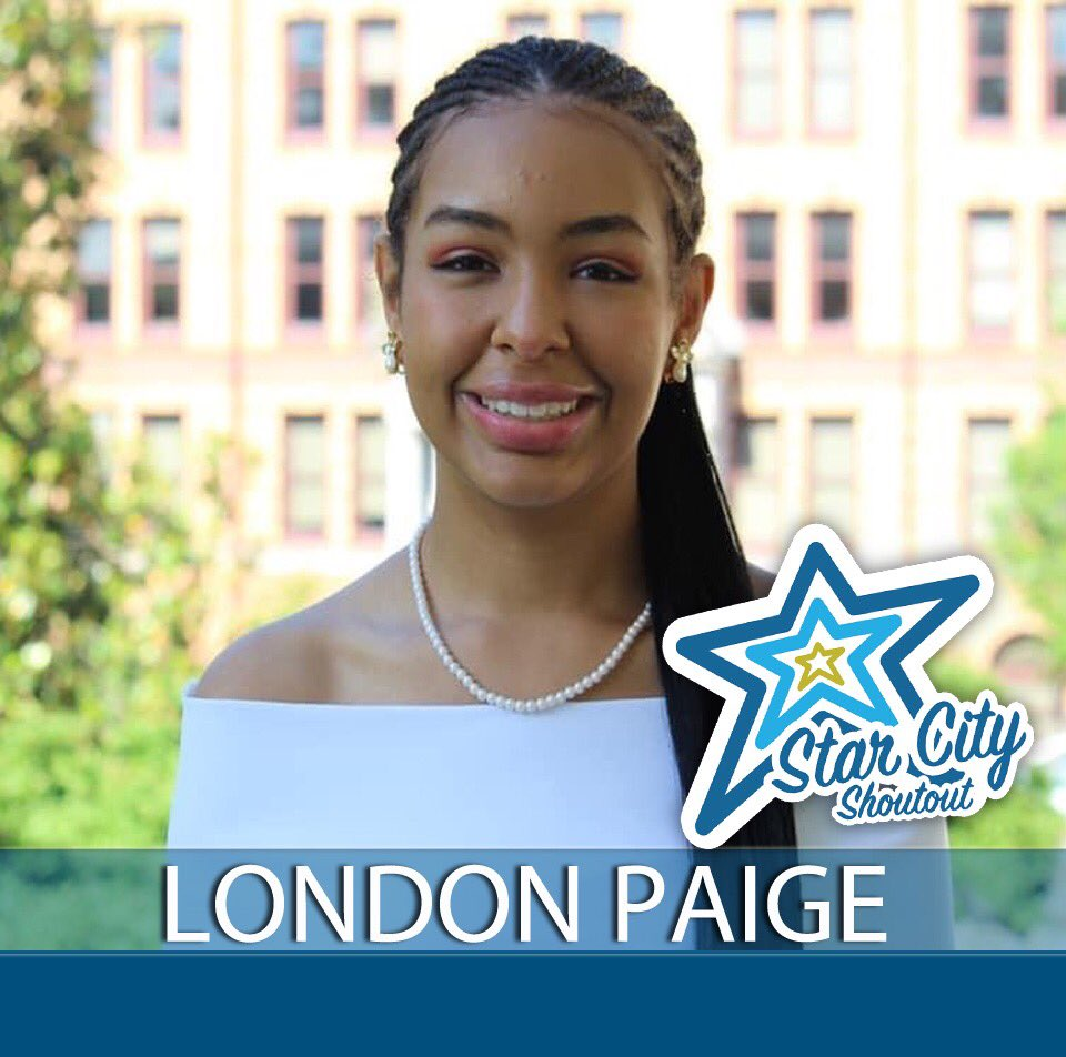 Congrats London Paige! Check out the link for more info about this incredible young woman!#starcityshoutout @NationalCivic ##2020AAC