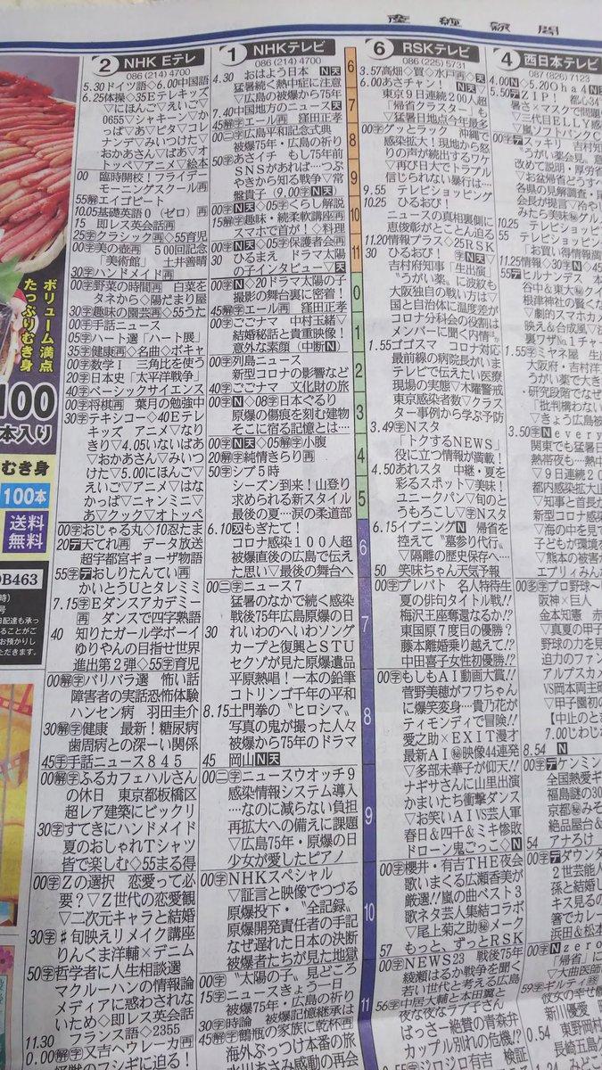 test ツイッターメディア - 8月6日産経新聞のテレビ欄です nhkドラマ太陽の子の製作の舞台裏が書かれています その後中村玉緒さんのごごナマがありますからそちらの筋が疑われますね ところで理学部数学科と工学部電気科では放射線で近いのは電気 小型実験炉が京都と近畿大学にあるのは承知 先に触れた仁科芳雄さん湯川秀樹さんは https://t.co/HzEkUPSurF