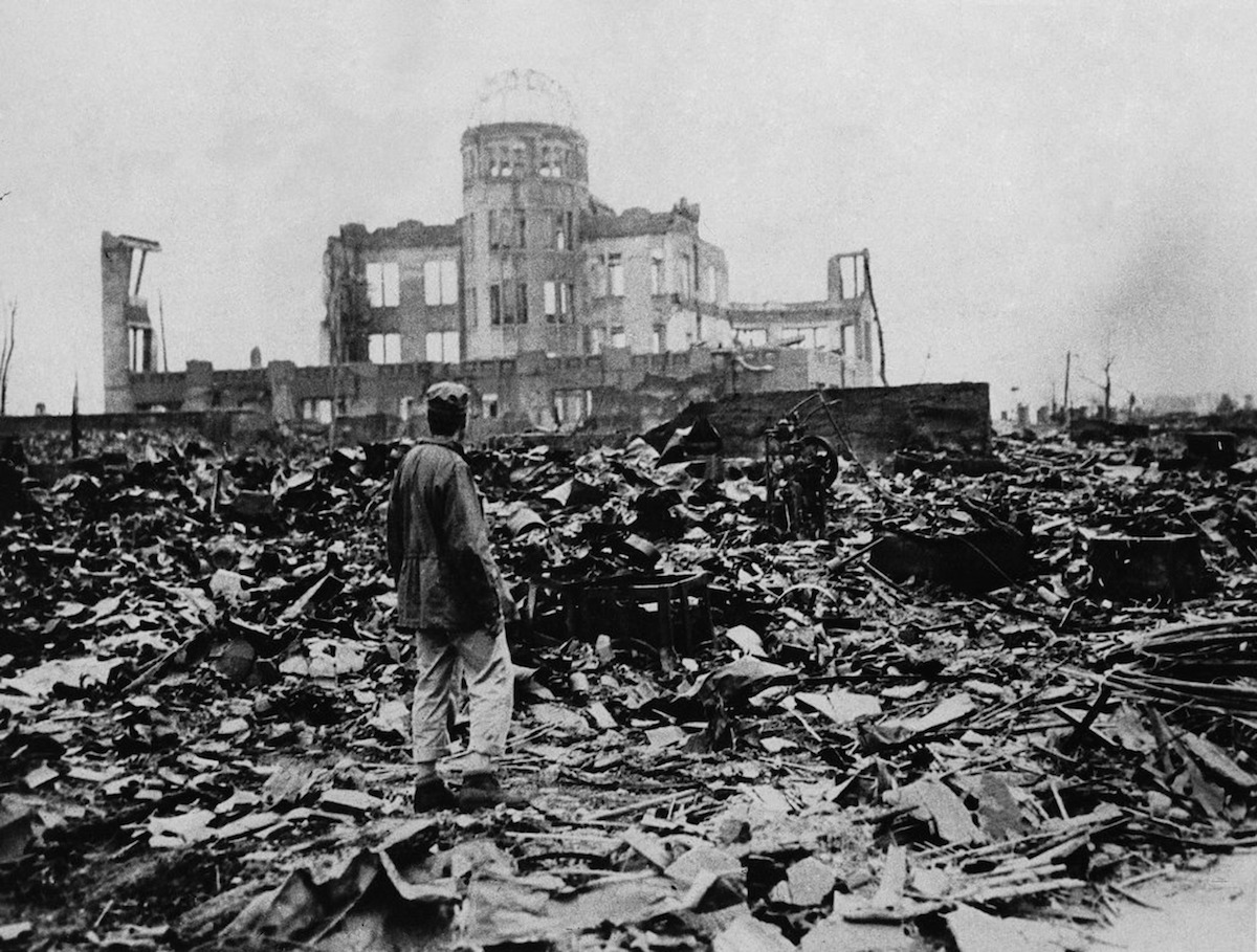 8/6/1945 the US dropped an atomic bomb on Hiroshima, Japan killing about 80,000 people instantly & tens of thousands more from radiation poisoning. 3 days later Nagasaki was bombed, killing 40,000 people. Nuclear weapons haven't been used since these tragic events.#TBT #CCLtbt