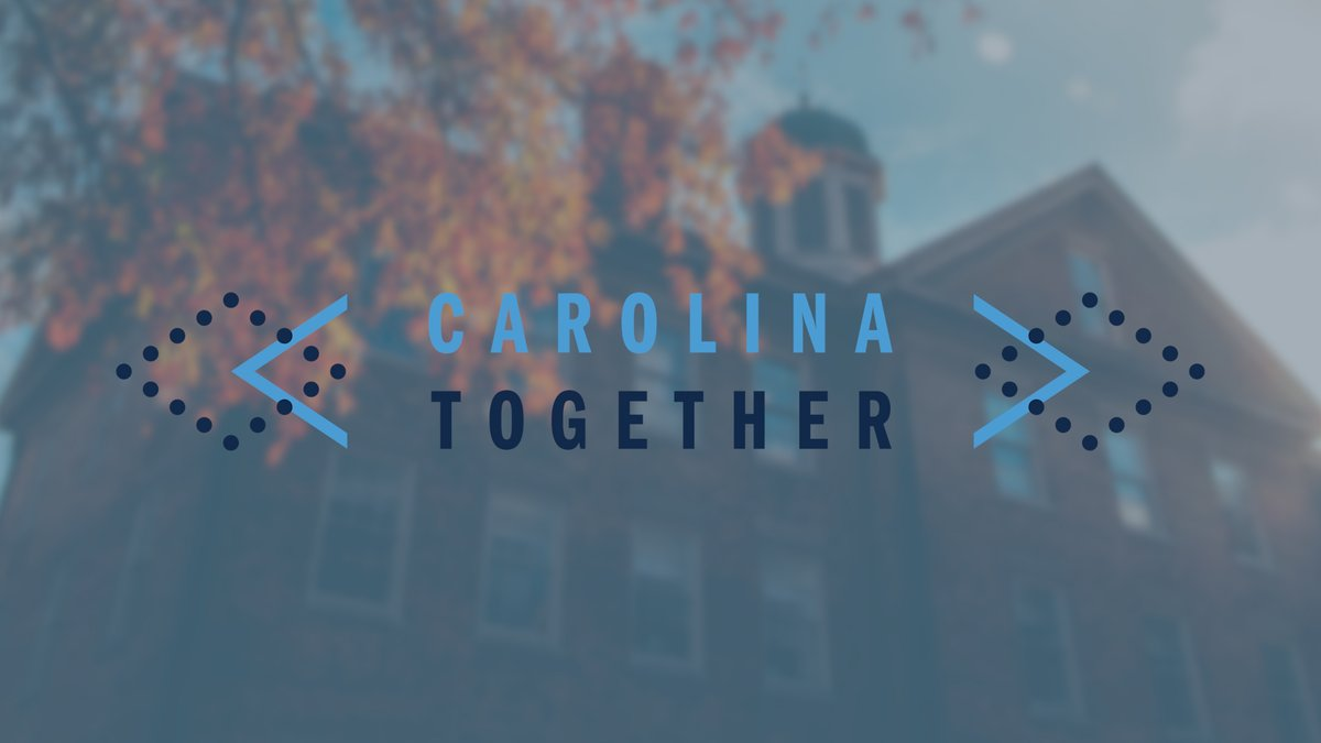 FDOC will be here Monday and so will a fall semester unlike any in our history. This week's Roadmap update has more info on Carolina Together Care Kits, the changes you'll see on campus to help keep our community safe and more on #UNC's COVID-19 dashboard: http://t.co/M8NkgyTBCs…