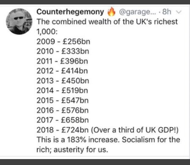 @LizKershawDJ @BBCNews @SkyNews @itvnews @Channel4News Follow the money Liz 😁 Everything's connected 🤔 There are NO coincidences ☠️ #Billionaires #RussiaReport  #ToryCorruption #Londongrad  #KremlinOligarchs #MafiaLaundromat  #Austerity #Covid19UK #Carehomescandal #PPEscandal #empathy  #justice