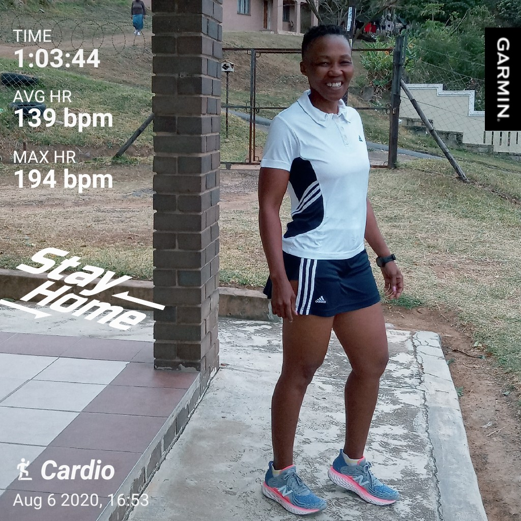 Weather said indoors baby  and i obliged. It was worth it because my knee was not feeling  good.#Fitmom#Golfmom #Beyourowninspiration #RunningWithTumiSole #FetchYourBody2020