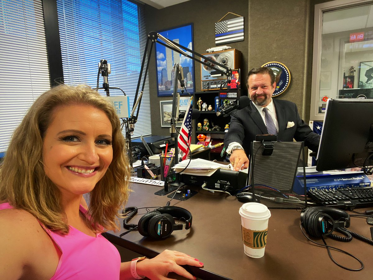 Back with my good friend, the one and only @SebGorka! Listen in to #AmericaFirst now!! 🇺🇸