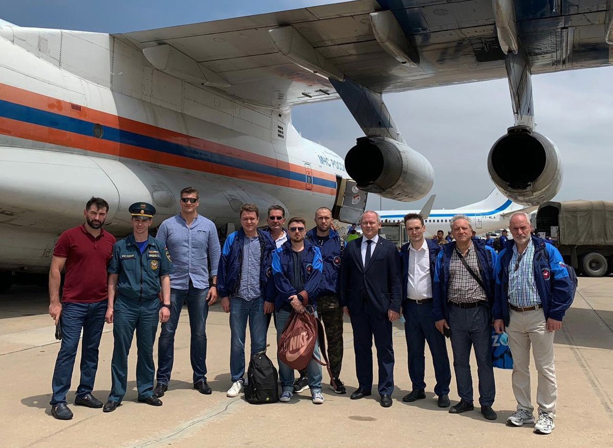 🇷🇺🇱🇧 👨⚕️👩⚕️ Among the many doctors, who arrived in #Beirut as part of the Russian relief & humanitarian mission, are top-class Russian pediatric & neuro- surgeons. Thanks to the assistance & initiative of @rsgov & @dzdmos, they will begin operating shortly #RussiaHelps