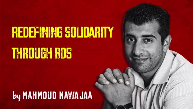 "WATCH: BDS coordinator Mahmoud Nawajaa, currently detained by Israel, says in 2018:  BDS ""brought hope and inspiration for all Palestinians... It gave people of conscience a very practical tool"" to move beyond symbolic solidarity.  Campaign to #FreeMahmoud"
