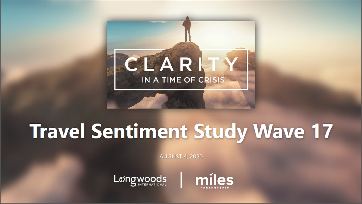 The most recent Travel Sentiment Study from @Lngwds and Miles Partnership, two preeminent travel/tourism research firms is now available to view here:   #visitmuskegon #covid19awareness #covid19crisis #travelandtourism #travelandleisure #travelindustry
