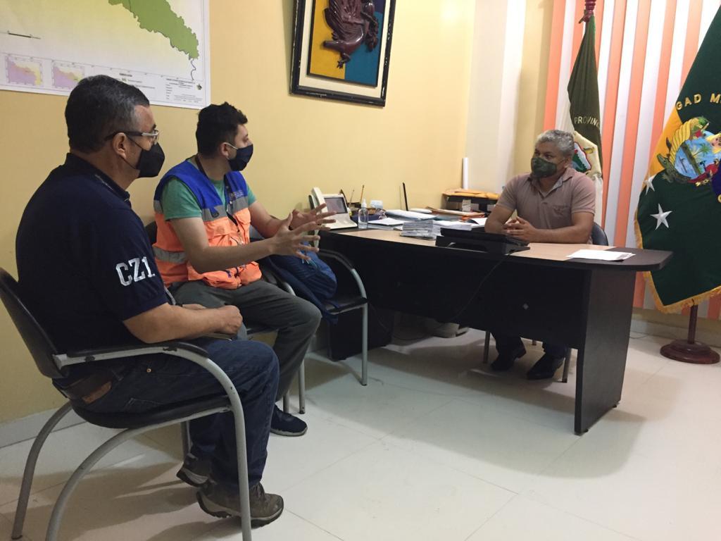 #Sucumbíos | Articulamos acciones y estrategias para potenciar el nivel de respuesta ante la #COVID19 en el cantón #Cuyabeno.
