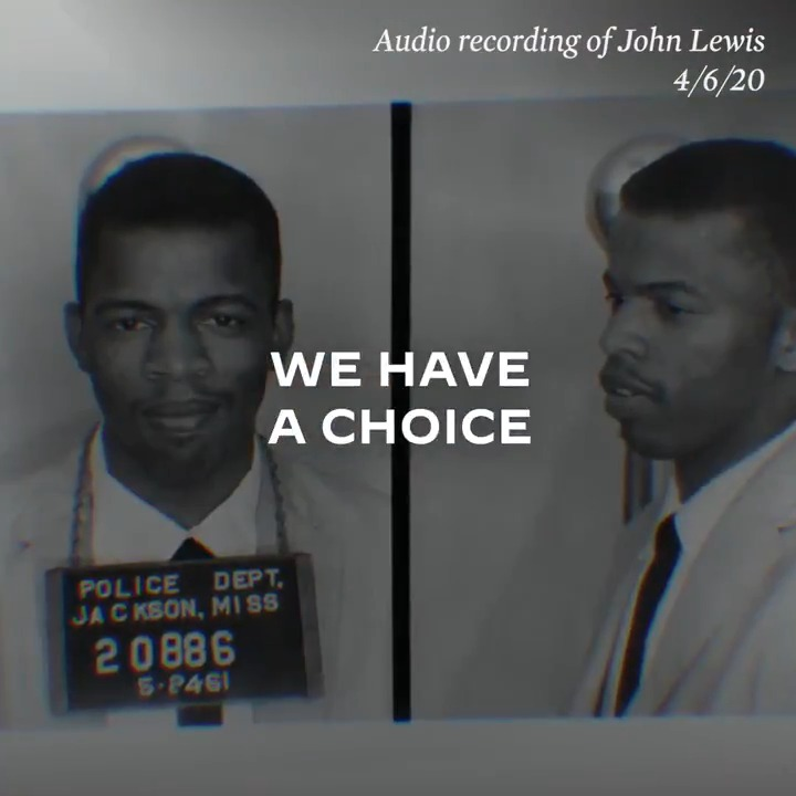 John Lewis left us with marching orders. It's up to all of us to carry them out: