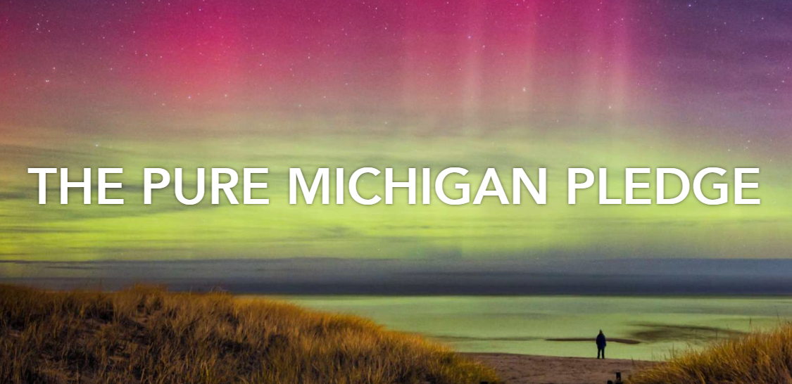 This is an important time to convey your business' COVID19 protocols to visitors. Take the Pure Michigan Pledge to provide travelers with details on what business or event  is doing    #visitmuskegon #PureMichiganPledge #covid19awareness