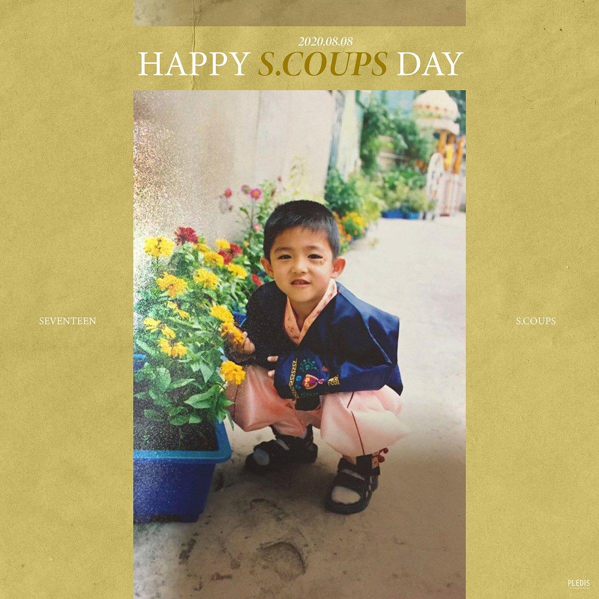 20200808 Happy S.COUPS's Day🚩  #Happy_SCOUPS_Day  #에스쿱스 #SCOUPS #세븐틴 #SEVENTEEN