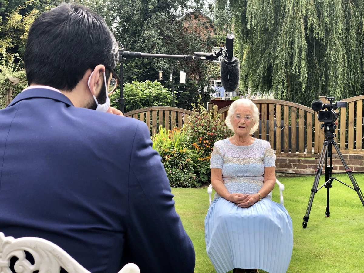 test Twitter Media - She swam the #EnglishChannel in the 1950s, @ArifAhmedITV talks with Eileen Fenton MBE about that experience on @itvcalendar tonight at 6 https://t.co/L8BTt2vgdB