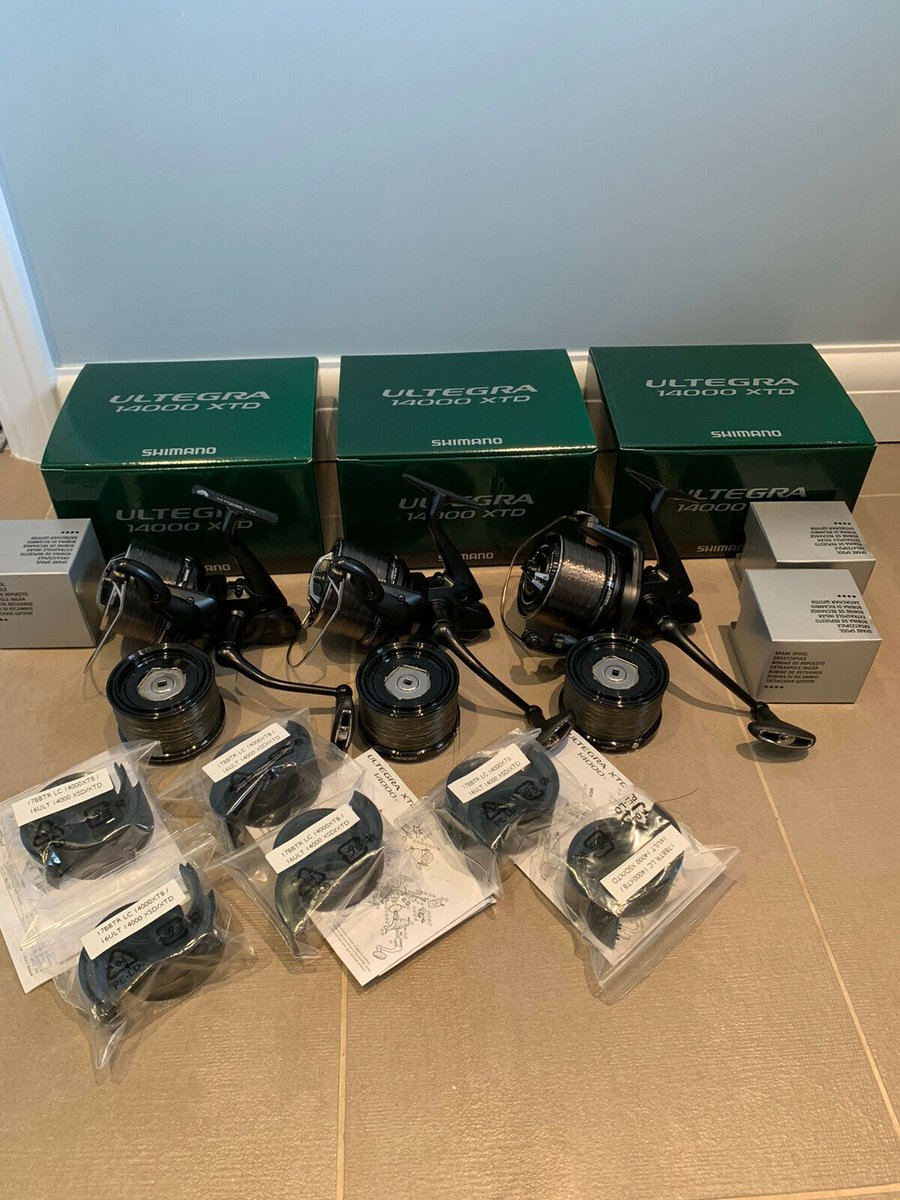 Ad - Shimano Ultegra 14000 XTD Reels x3 On eBay here -->> https://t.co/LmXYJ5vtpk  #carpfishin