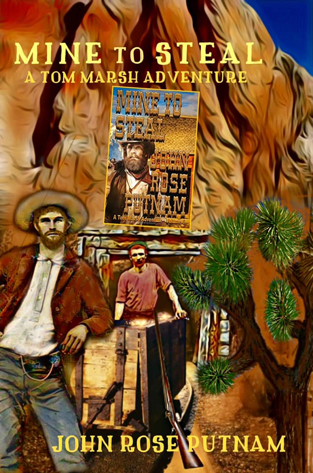 Gold fever fuels John's exciting new book ❈MINE TO STEAL❈   Armed crooks have taken Tom's gold mine. Squatters are big trouble. Tom is in for a fight.  A powerful #Western #Adventure   99c ~ FREE on #KindleUnlimited