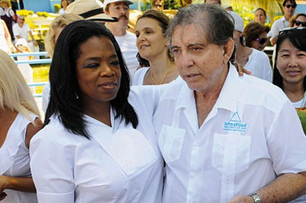 "OPRAH'S ""WHITE"" BFF Celebrity faith healer 'John of God' is jailed for 19 years in Brazil for raping four women!  Faith healer is accused of abusing hundreds of women at his church for decades!   via @MailOnline"