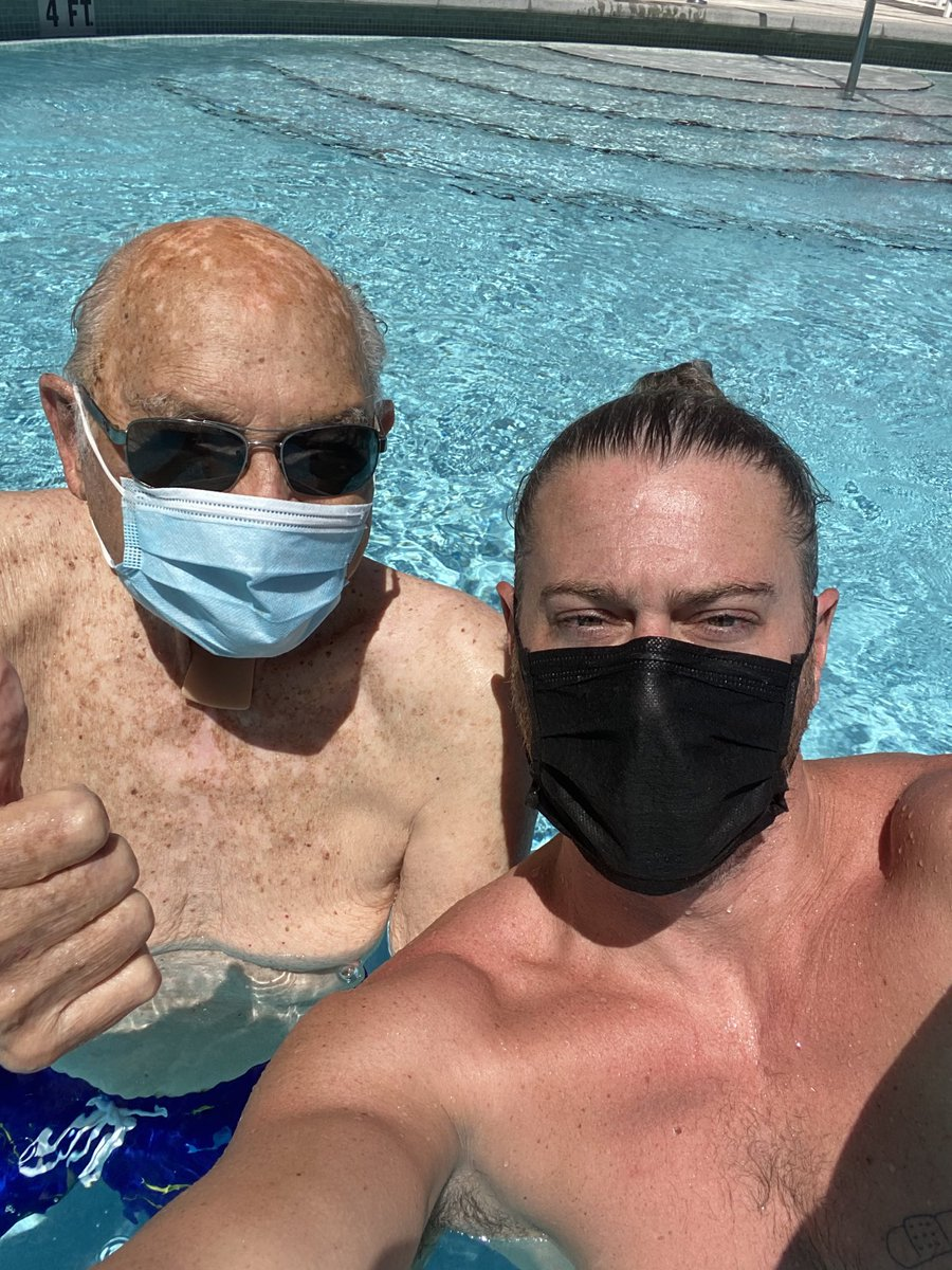 This is my friend and neighbor Taylor.  He is one of the original members of ANTIFA.  Taylor fought in the Battle Of The Bulge.  He's 95 years old and wanted me to tell you that he didn't fight the Nazis just to have you idiots not wear a mask.