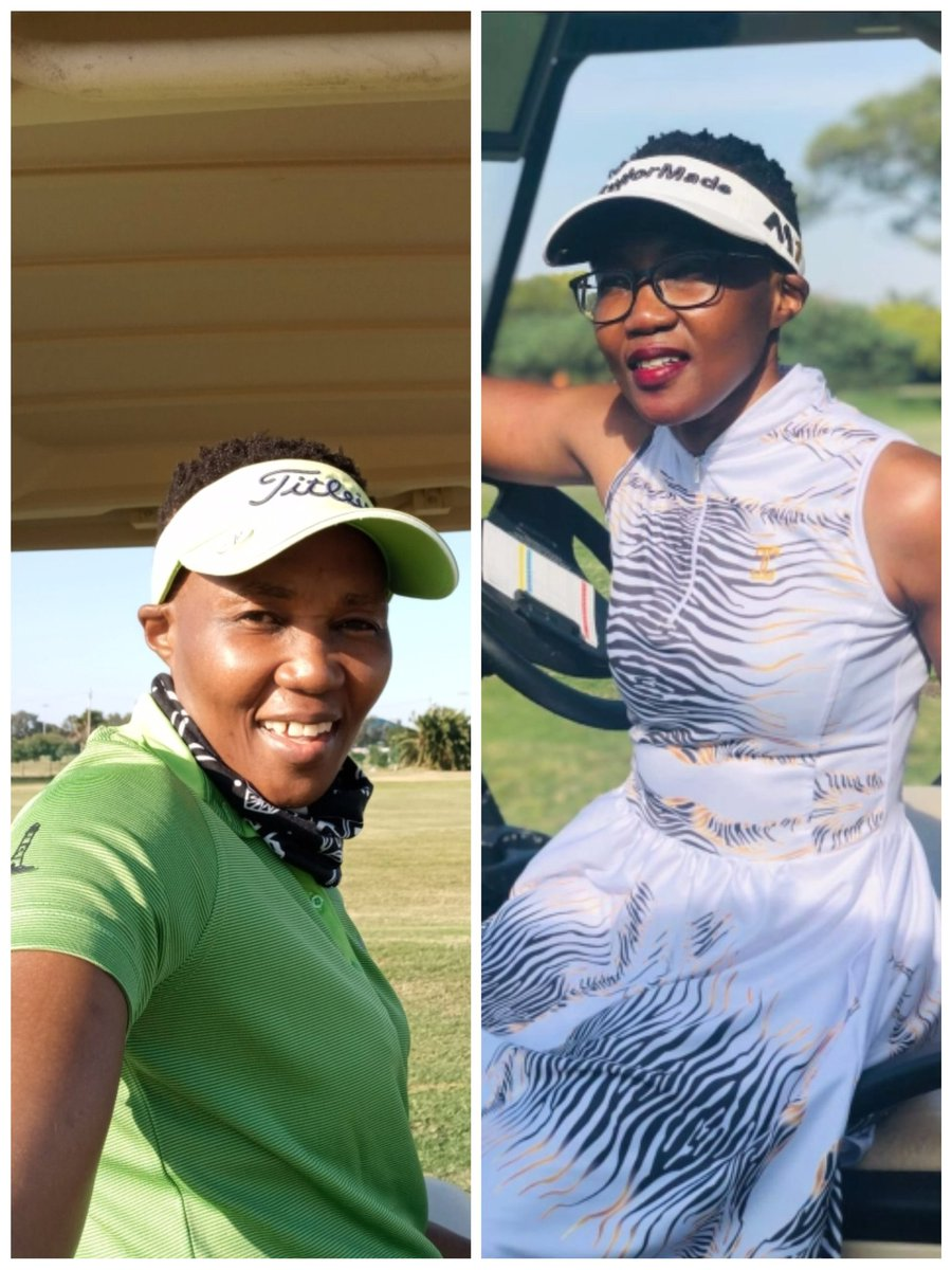 Injuries can let you down but i will not be defeated. Back to back on the golf course,hopefully i will be back on the road soon. I am a runner,hhayi bo. Will be back💪 #Fitmom#Golfmom#Gymfanatic #Beyourowninspiration  #HappyWomensDay #RunningWithTumiSole #FetchYourBody2020